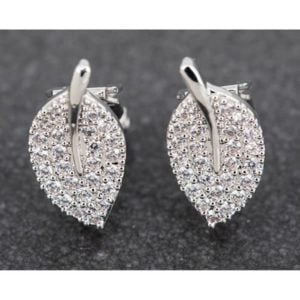 Delicate Leaf PP Clip on Earrings