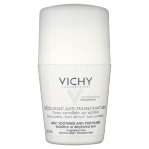 Vichy 48hr Fragrance Free Deodorant For Sensitive Skin 50ml