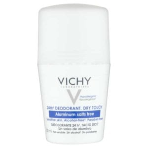 Vichy 24hr Aluminium Salt-Free Deodorant Roll-on 50ml