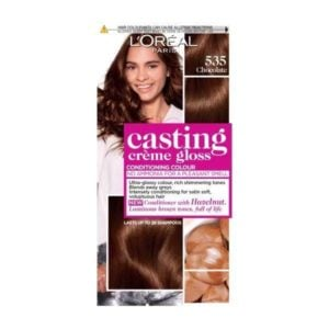 L'Oreal Casting Creme Semi Permanent Hair Dye Gloss 535 Chocolate