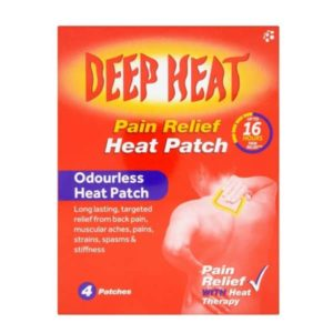 Deep Heat Pain Relief Heat Patch (4 Pk)