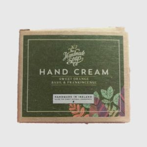 Hand Cream – Sweet Orange, Basil & Frankinscense (50g)