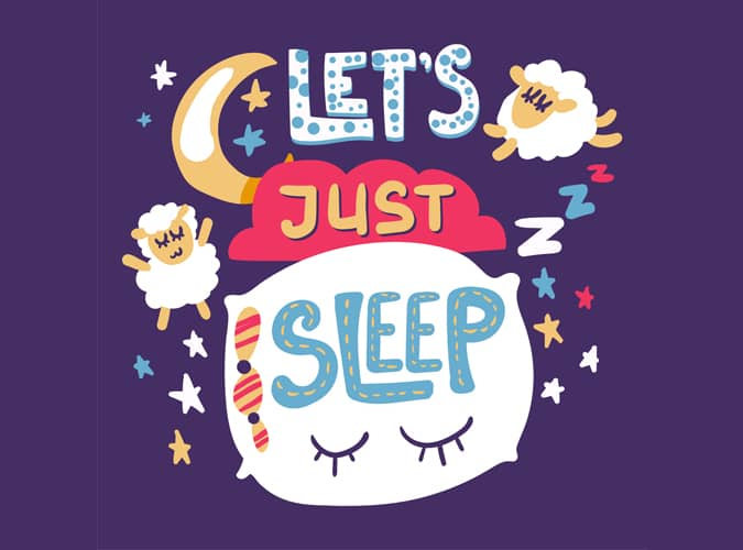 lets just sleep blog cover