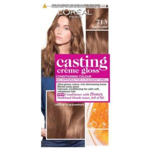 L'Oreal Casting Creme Gloss 713 Iced Latte Semi Permanent Hair Dye