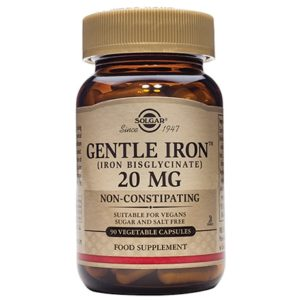 Solgar Gentle Iron 20mg Capsules (90)