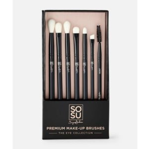 Sosu by Suzanne Jackson Premium Eye Makeup Brush Set