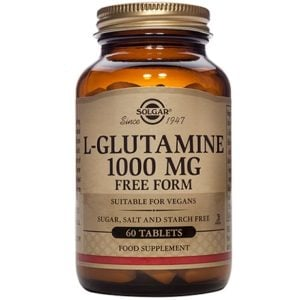 Solgar L-Glutamine 1000 mg – (60) Tablets