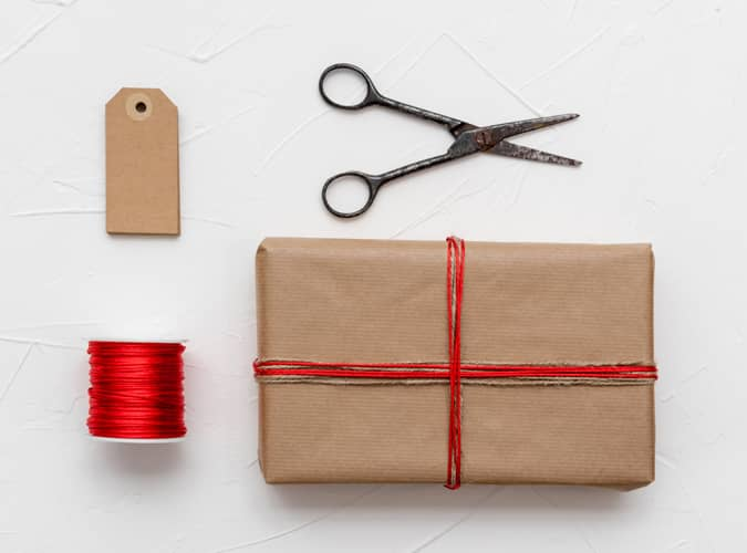 Xmas Gift Wrapping Hamper
