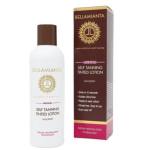 Bellamianta Medium Self Tanning Tinted Lotion (200ml)