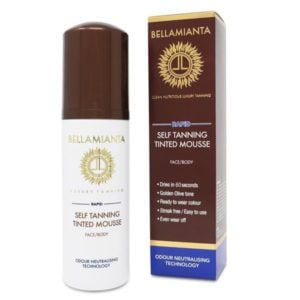Bellamianta Rapid Self Tanning Tinted Mousse (150ml)