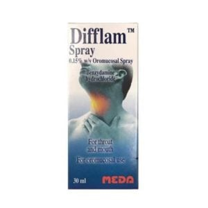 Difflam Oromucosal Throat Spray 30ml