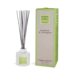 Fragrance Diffuser – Grapefruit & Lemongrass (120ml)