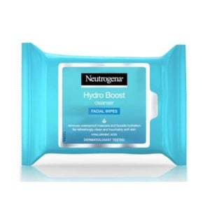 Neutrogena Hydro Boost Cleansing Facial Wipes (25Pk)