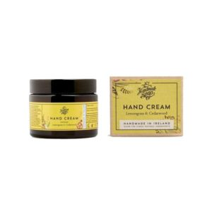 The Handmade Soap Company Lemongrass and Cedarwood Hand Cream 50g