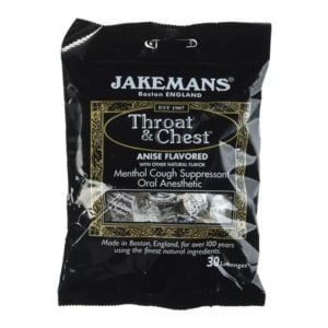 Jakemans Throat & Chest Sweets (100g)