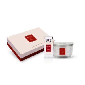 Jenny Glow Candle & Fragrance Set – Pomegranate