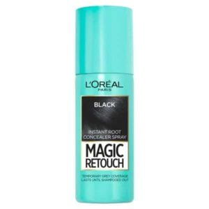 L'oreal Magic Retouch Root Touch Up  (Black)