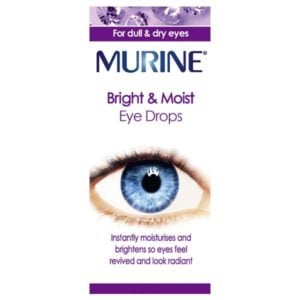 Murine Bright & Moist Eye Drops (15ml)