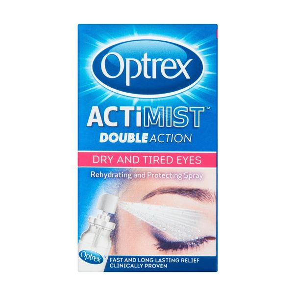 Optrex Actimist Double Action Spray for Dry & Tired Eyes 10ml