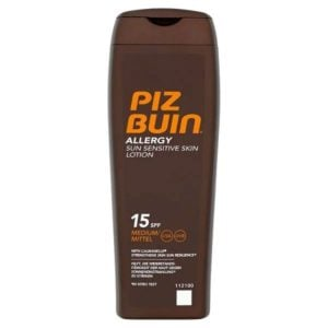 Piz Buin Allergy Sun Sensitive Lotion SPF15 (200ml)