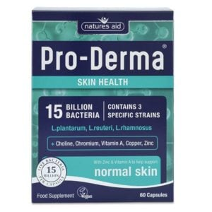 Natures Aid Pro Derma (15 Billion Bacteria) – (60) Capsules