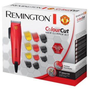 Remington Colour Cut Hair Clipper – Manchester United