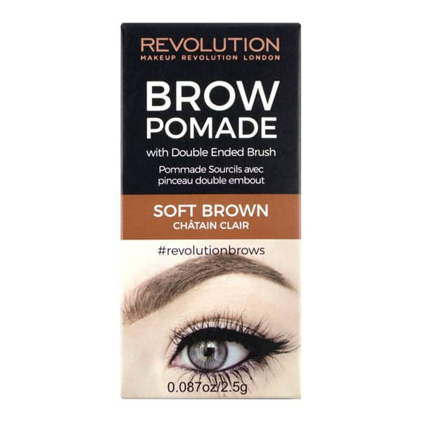 Revolution Brow Pomade Soft Brown