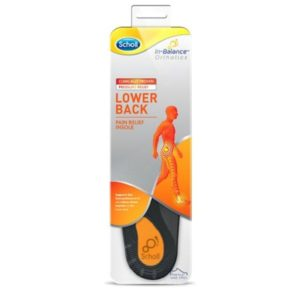Scholl Lower Back Pain Relief Insoles